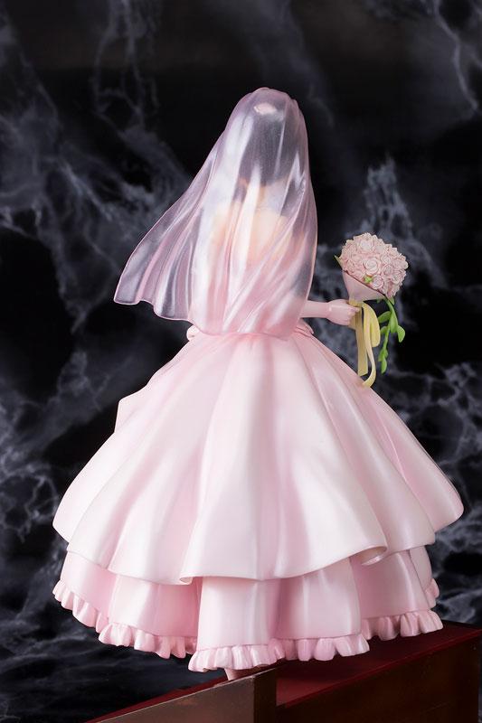 デート・ア・ライブ 時崎狂三 ウェディングver ピンク 1/7 完成品フィギュア-003