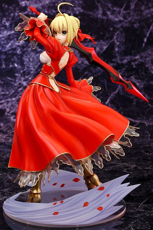 Fate/EXTRA セイバー・エクストラ 1/7 完成品フィギュア-001