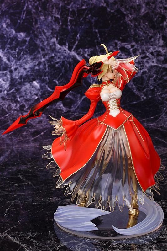 Fate/EXTRA セイバー・エクストラ 1/7 完成品フィギュア-002