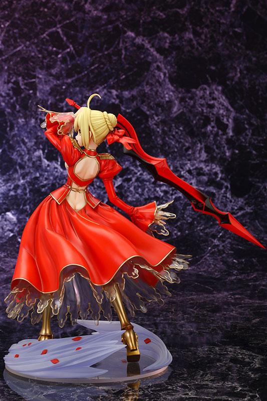 Fate/EXTRA セイバー・エクストラ 1/7 完成品フィギュア-005