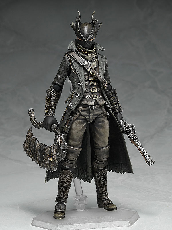 figma Bloodborne 狩人 ノンスケール ABS&PVC製 塗装済み可動フィギュア-001
