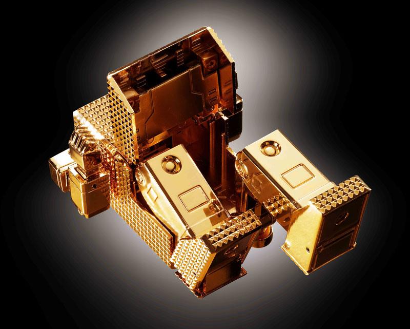 超合金魂 GX-32Rゴールドライタン 24金メッキ仕上げ-012