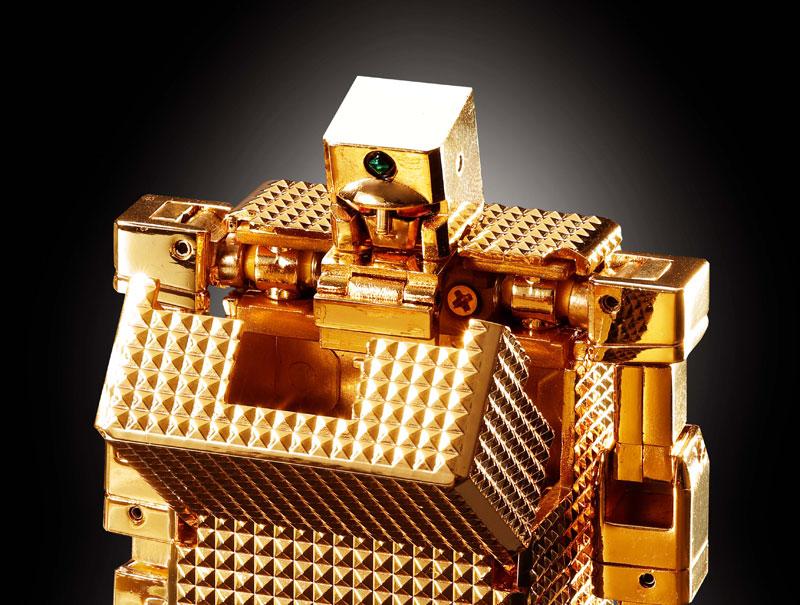 超合金魂 GX-32Rゴールドライタン 24金メッキ仕上げ-013