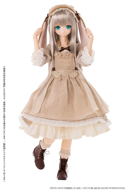 『アリス / Time of grace III ~Easter Bunny in Wonderland~ Caffe latte』完成品ドール-002