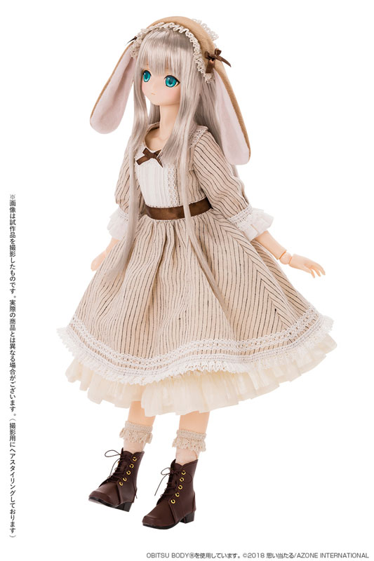 『アリス / Time of grace III ~Easter Bunny in Wonderland~ Caffe latte』完成品ドール-006