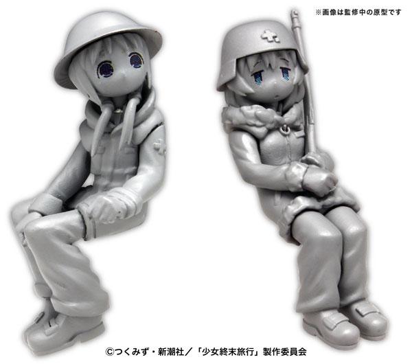 少女終末旅行『ケッテンクラート w/チト&ユーリ フィギュア2体セット』1/35 プラモデル-001