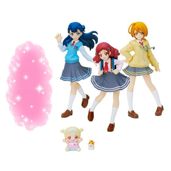 【食玩】HUGっと!プリキュア キューティーフィギュア2 Special Set