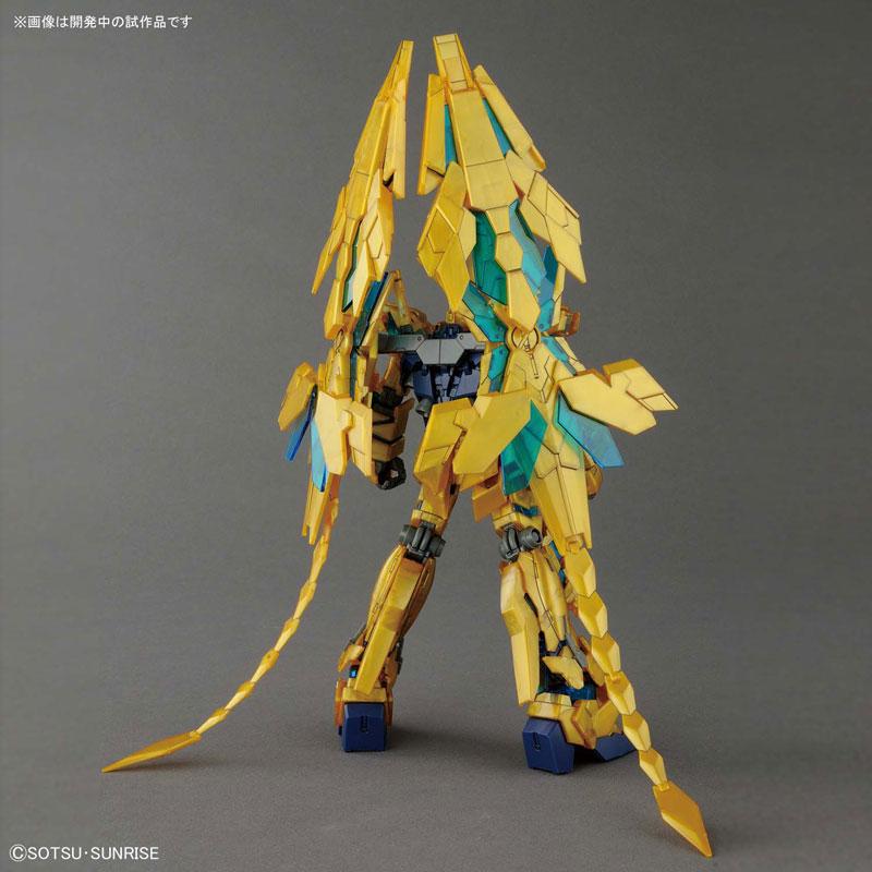 HGUC 1/144『ユニコーンガンダム3号機 フェネクス(デストロイモード)(ナラティブVer.)』プラモデル-003