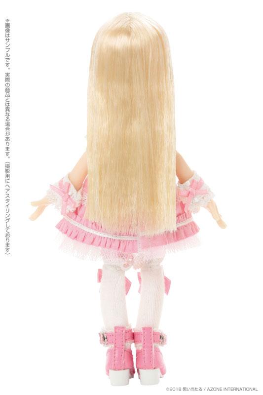 ピコサアラズ ア・ラ・モード ~スイーツ ア・ラ・モード~『ホワイトストロベリーショートケーキ / サアラ』1/12 完成品ドール-004