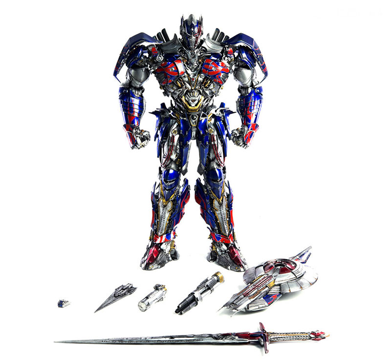 Transformers: The Last Knight OPTIMUS PRIME『トランスフォーマー/最後の騎士王|オプティマスプライム』可動フィギュア-001