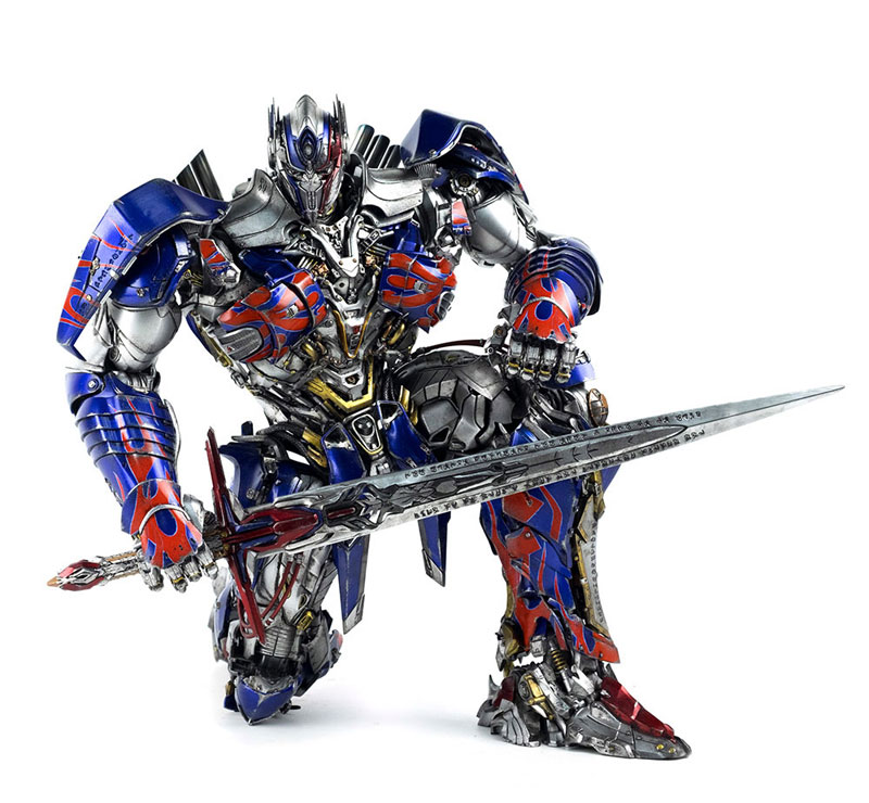 Transformers: The Last Knight OPTIMUS PRIME『トランスフォーマー/最後の騎士王|オプティマスプライム』可動フィギュア-005
