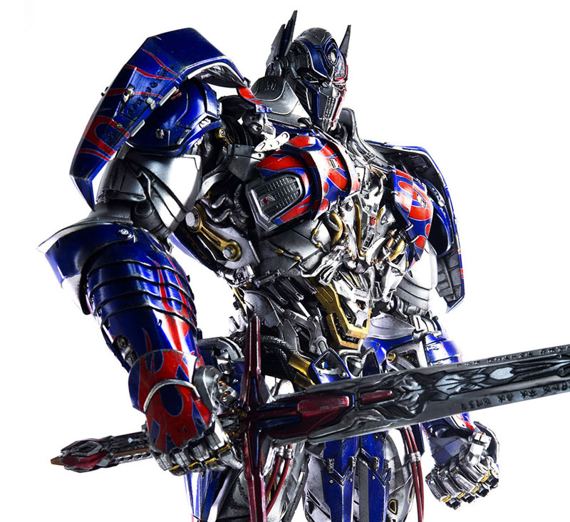 Transformers: The Last Knight OPTIMUS PRIME『トランスフォーマー/最後の騎士王 オプティマスプライム』可動フィギュア-007