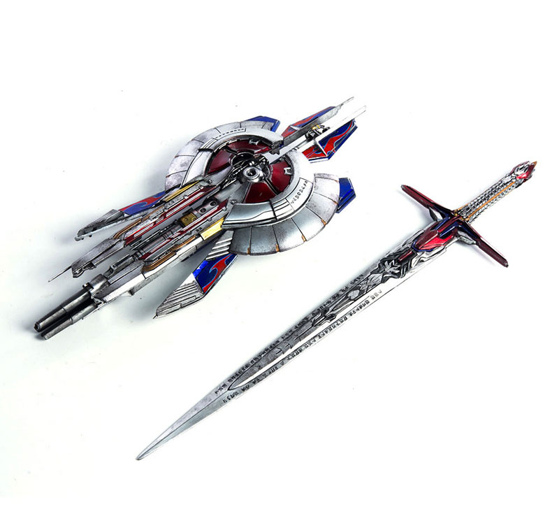 Transformers: The Last Knight OPTIMUS PRIME『トランスフォーマー/最後の騎士王|オプティマスプライム』可動フィギュア-011