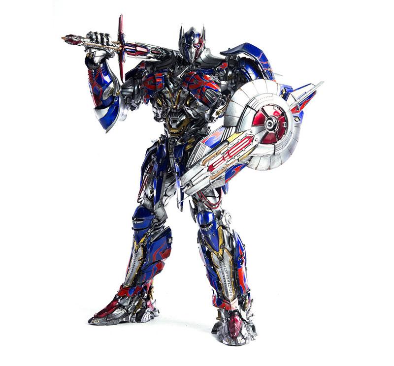 Transformers: The Last Knight OPTIMUS PRIME『トランスフォーマー/最後の騎士王|オプティマスプライム』可動フィギュア-012