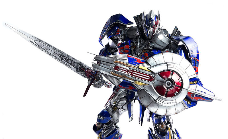 Transformers: The Last Knight OPTIMUS PRIME『トランスフォーマー/最後の騎士王 オプティマスプライム』可動フィギュア-014