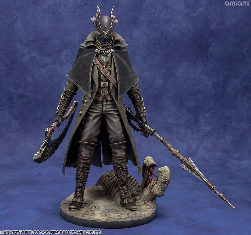 Bloodborne The Old Hunters/ 狩人 1/6 スケール スタチュー-001