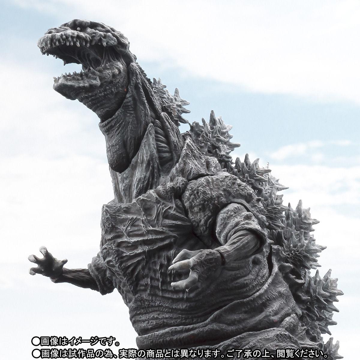 S.H.MonsterArts ゴジラ(2016)第4形態 凍結Ver.-001