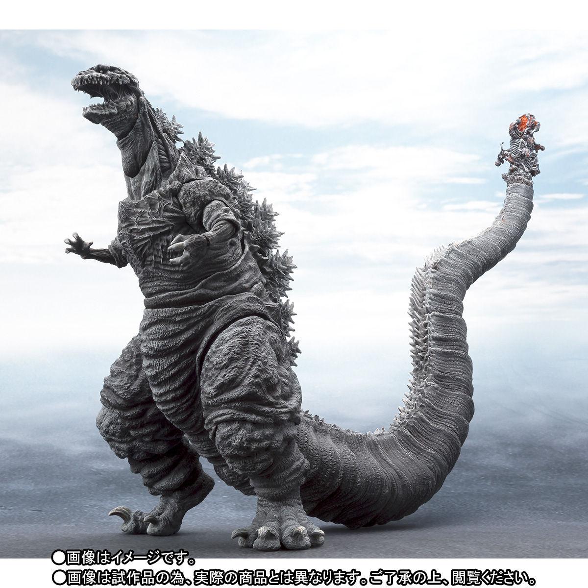 S.H.MonsterArts ゴジラ(2016)第4形態 凍結Ver.-002