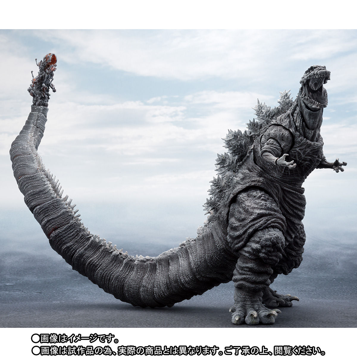 S.H.MonsterArts ゴジラ(2016)第4形態 凍結Ver.-005