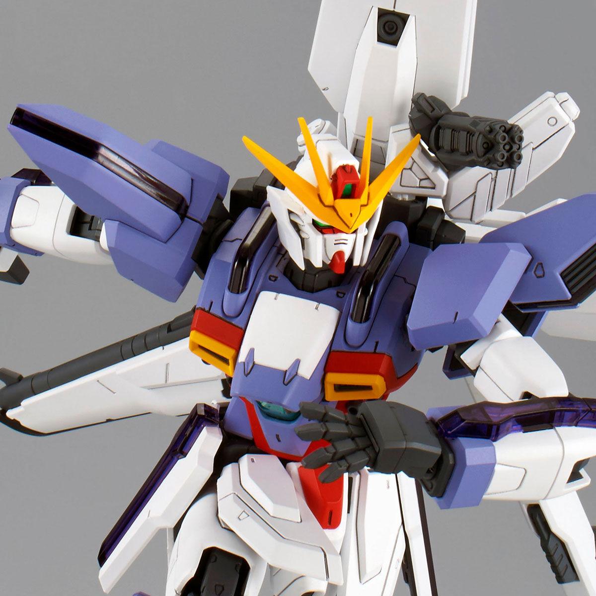 MG 1/100『ガンダムX3号機』プラモデル-001
