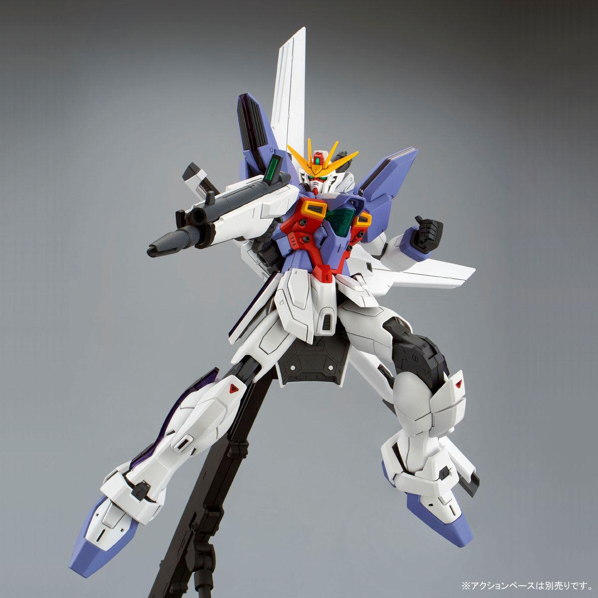 MG 1/100『ガンダムX3号機』プラモデル-006