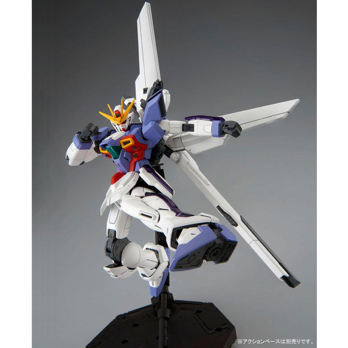 MG 1/100『ガンダムX3号機』プラモデル-007