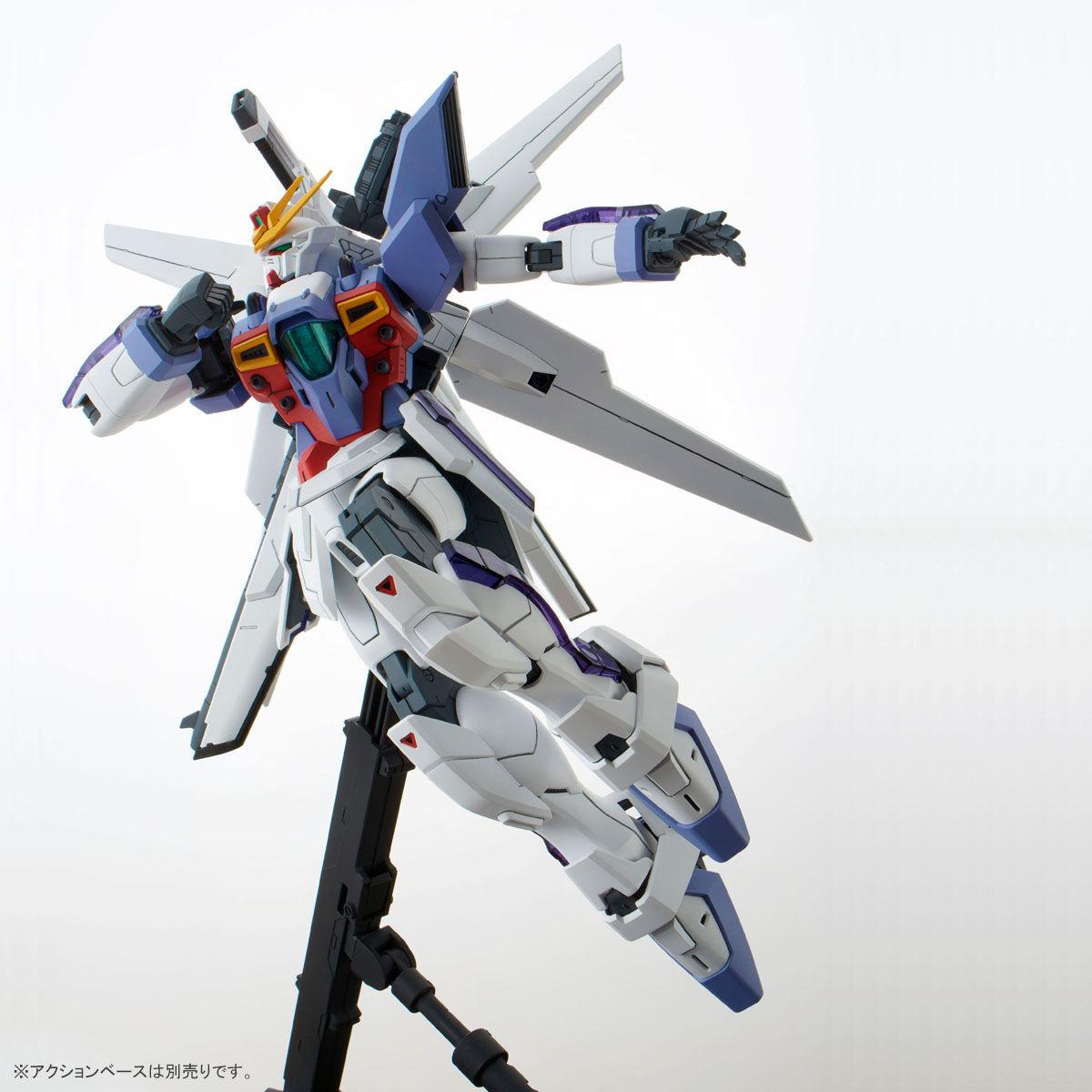 MG 1/100『ガンダムX3号機』プラモデル-010