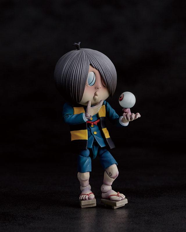 KT-018 タケヤ式自在置物『鬼太郎|ゲゲゲの鬼太郎立体絵巻』可動フィギュア-003
