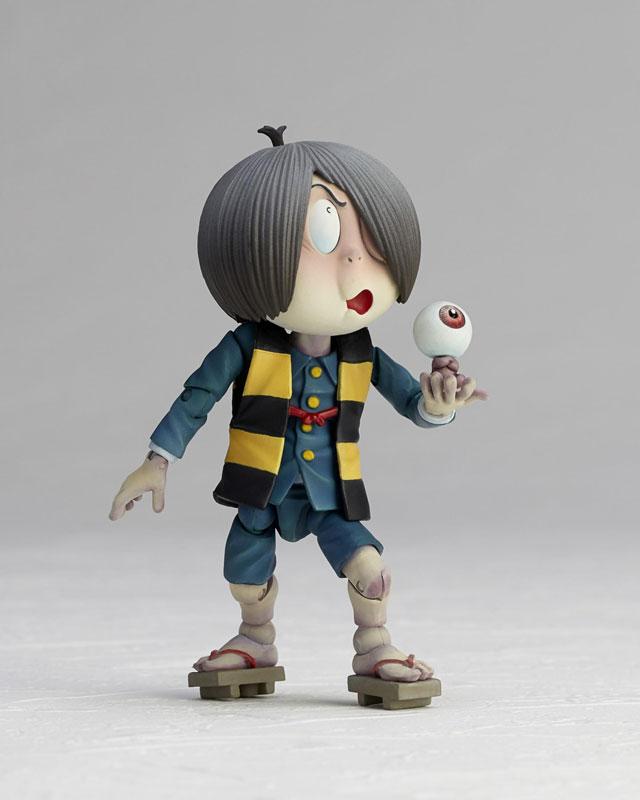 KT-018 タケヤ式自在置物『鬼太郎 ゲゲゲの鬼太郎立体絵巻』可動フィギュア-008