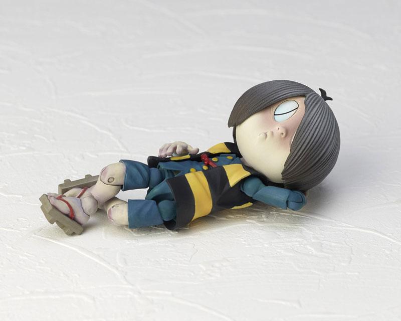 KT-018 タケヤ式自在置物『鬼太郎 ゲゲゲの鬼太郎立体絵巻』可動フィギュア-009
