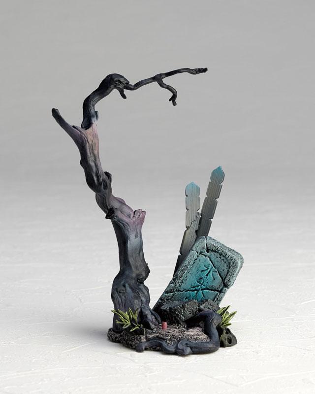 KT-018 タケヤ式自在置物『鬼太郎|ゲゲゲの鬼太郎立体絵巻』可動フィギュア-012