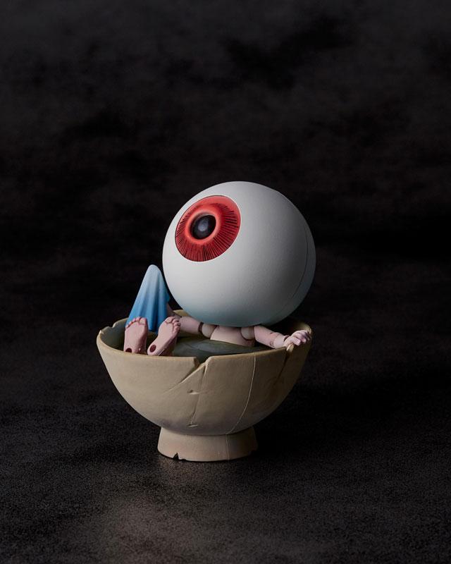 KT-019 タケヤ式自在置物『目玉おやじ|ゲゲゲの鬼太郎立体絵巻』可動フィギュア-001