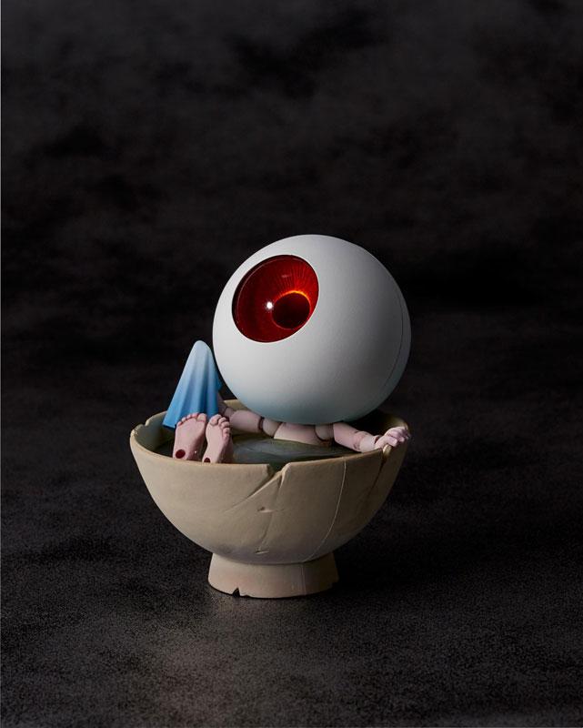 KT-019 タケヤ式自在置物『目玉おやじ|ゲゲゲの鬼太郎立体絵巻』可動フィギュア-002