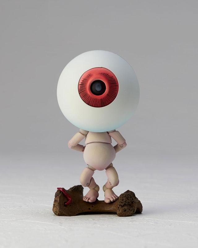 KT-019 タケヤ式自在置物『目玉おやじ|ゲゲゲの鬼太郎立体絵巻』可動フィギュア-006