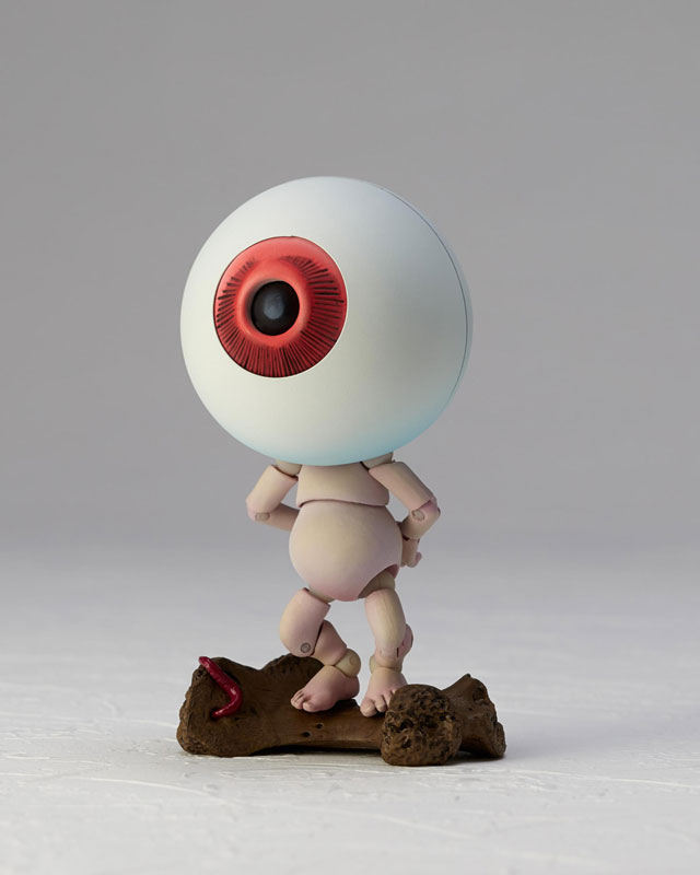 KT-019 タケヤ式自在置物『目玉おやじ|ゲゲゲの鬼太郎立体絵巻』可動フィギュア-007