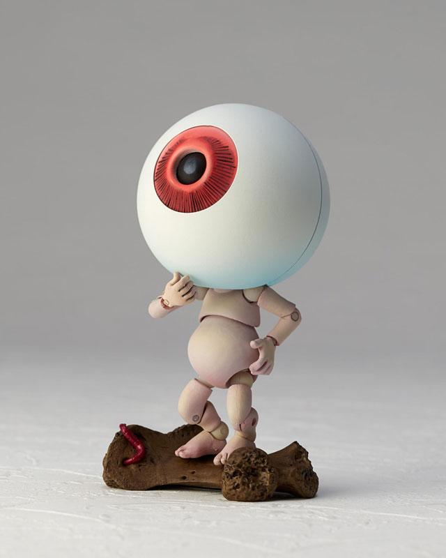 KT-019 タケヤ式自在置物『目玉おやじ|ゲゲゲの鬼太郎立体絵巻』可動フィギュア-008
