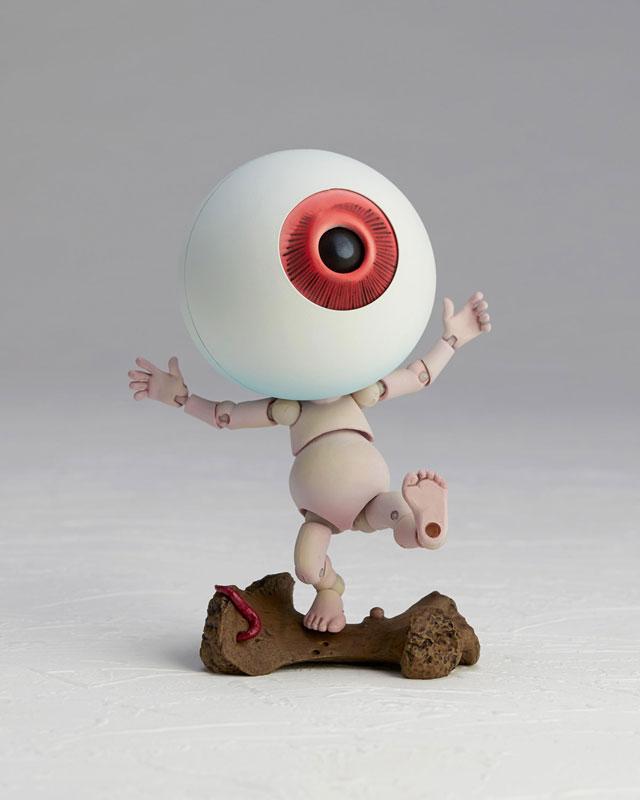 KT-019 タケヤ式自在置物『目玉おやじ ゲゲゲの鬼太郎立体絵巻』可動フィギュア-009