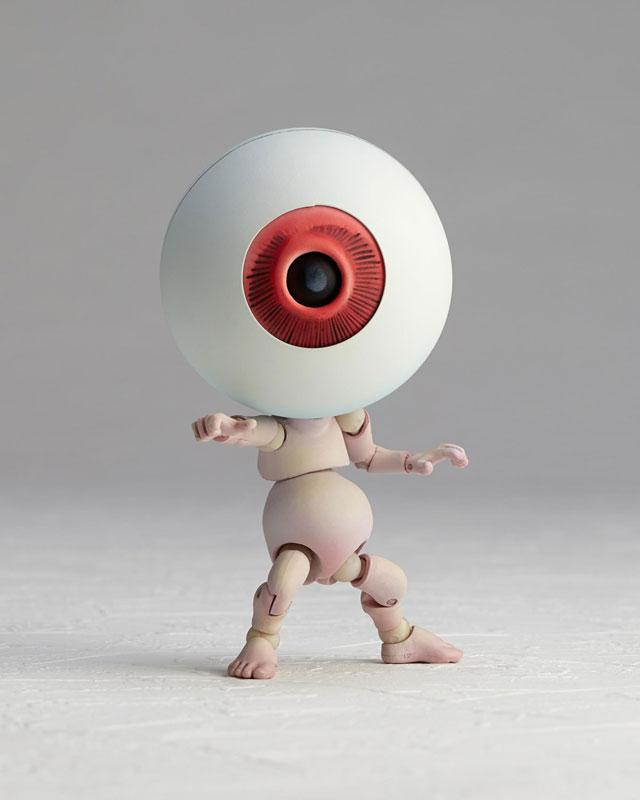 KT-019 タケヤ式自在置物『目玉おやじ|ゲゲゲの鬼太郎立体絵巻』可動フィギュア-011