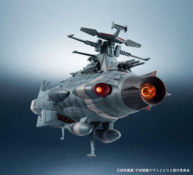 輝艦大全 1/2000地球連邦主力戦艦ドレッドノート級 2隻セット-012