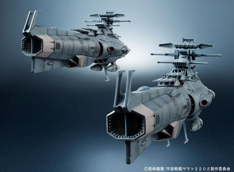 輝艦大全 1/2000地球連邦主力戦艦ドレッドノート級 2隻セット-013