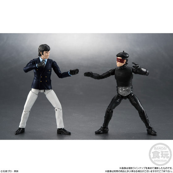 【食玩】SHODO『仮面ライダーVS9』可動フィギュア 10個入りBOX-009