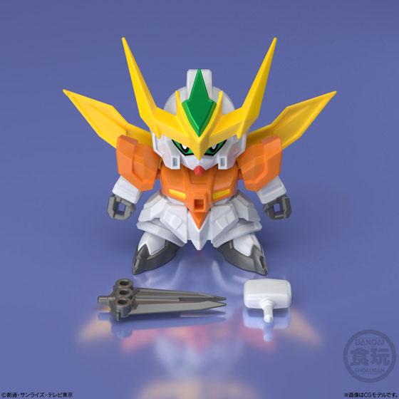 【食玩】ミニプラ『スーパーショックガンダム』10個入りBOX-003