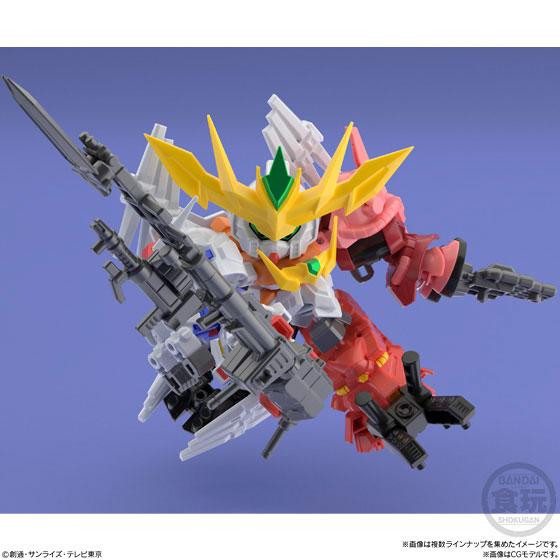 【食玩】ミニプラ『スーパーショックガンダム』10個入りBOX-006