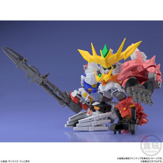 【食玩】ミニプラ『スーパーショックガンダム』10個入りBOX-008