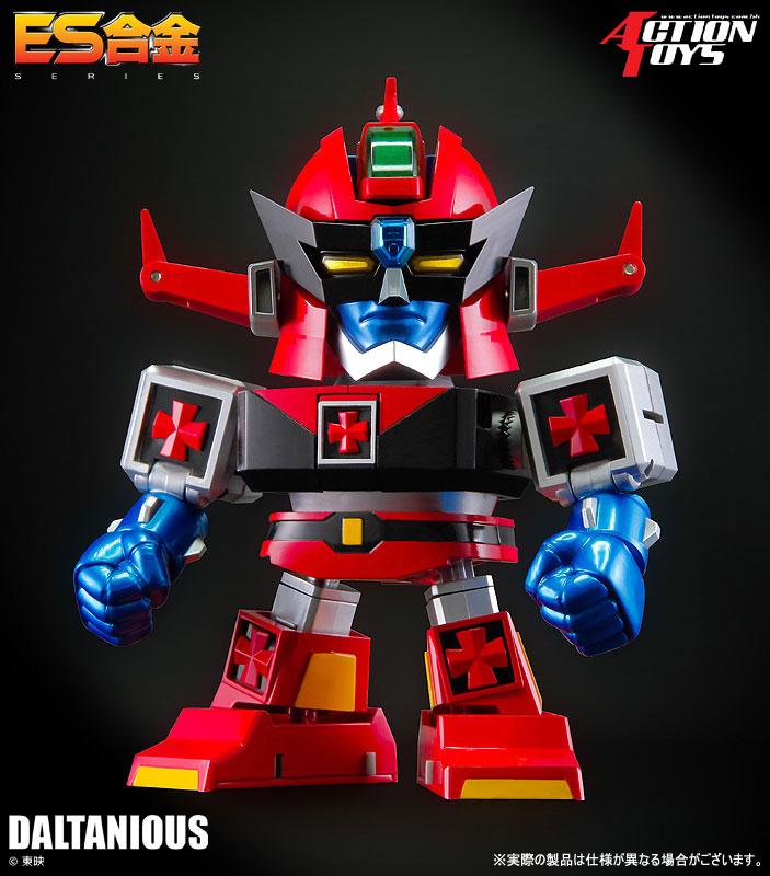 ES合金『未来ロボ ダルタニアス』合体可動フィギュア-008