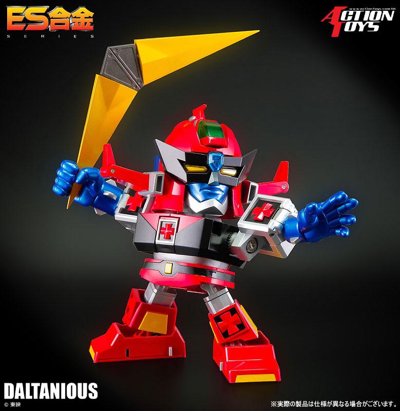 ES合金『未来ロボ ダルタニアス』合体可動フィギュア-009
