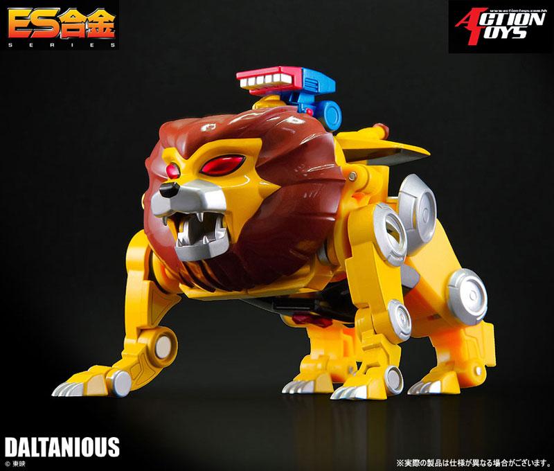 ES合金『未来ロボ ダルタニアス』合体可動フィギュア-011