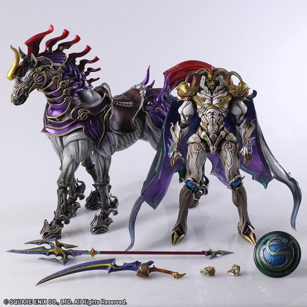 様々な武器を持った召喚獣