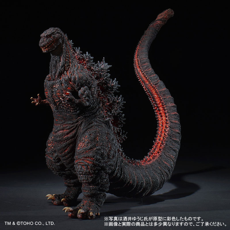 東宝30cmシリーズ 酒井ゆうじ造形コレクション『ゴジラ(2016)』完成品フィギュア-001