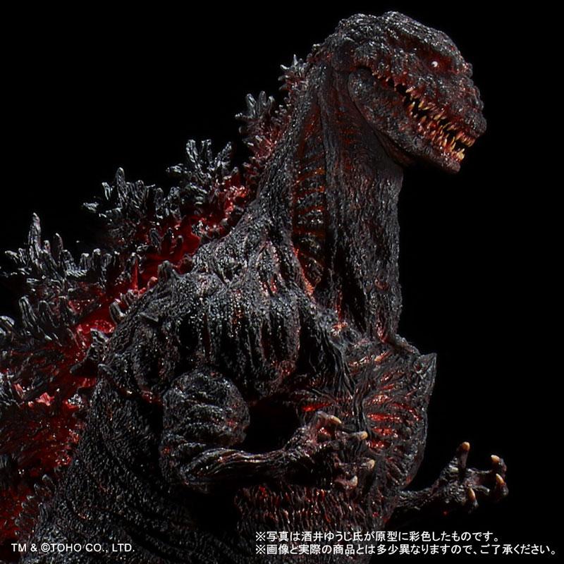 東宝30cmシリーズ 酒井ゆうじ造形コレクション『ゴジラ(2016)』完成品フィギュア-004